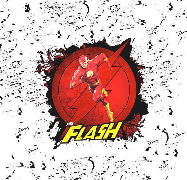 Robin Digital Art - Flash by Geek N Rock