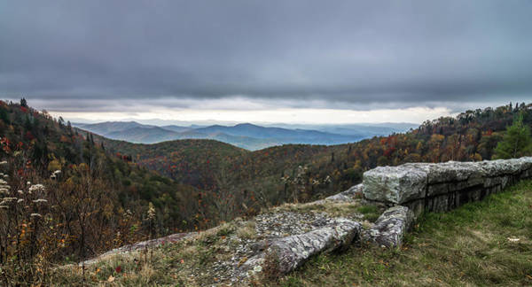 Photograph - Graveyard Fields Overlook In The Smoky Mountains In North Caroli by Alex Grichenko
