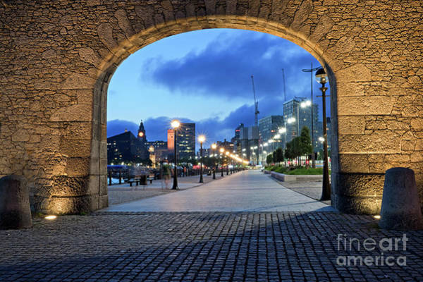 Wall Art - Photograph - Royal Albert Dock by Ken Biggs