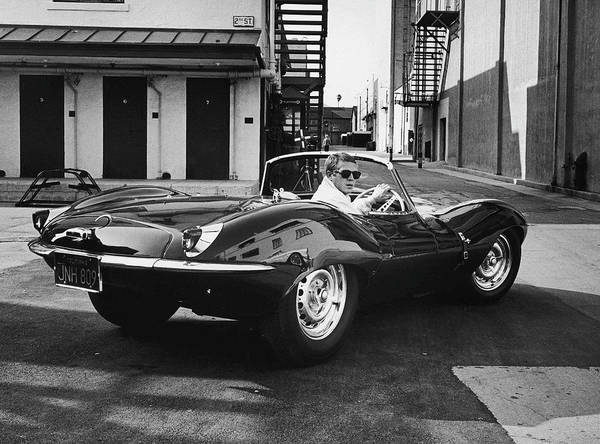 Sport Car Photograph - Steve Mcqueen by John Dominis