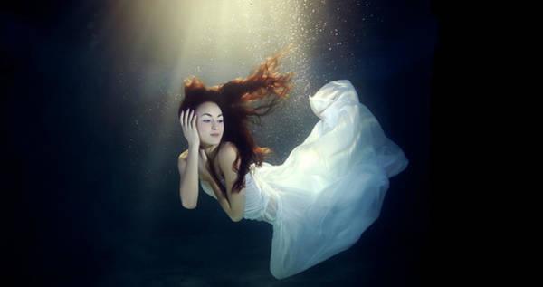 Underwater Photograph - Underwater by Mark Mawson