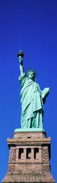 Wall Art - Photograph - Usa, New York, Statue Of Liberty by Panoramic Images