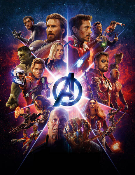 Wall Art - Digital Art - Avengers   by Geek N Rock