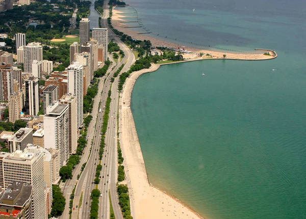 Lakeshore Photograph - Chicago by J.castro