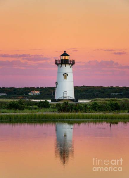 Wall Art - Photograph - Edgartown Lighthouse by John Greim