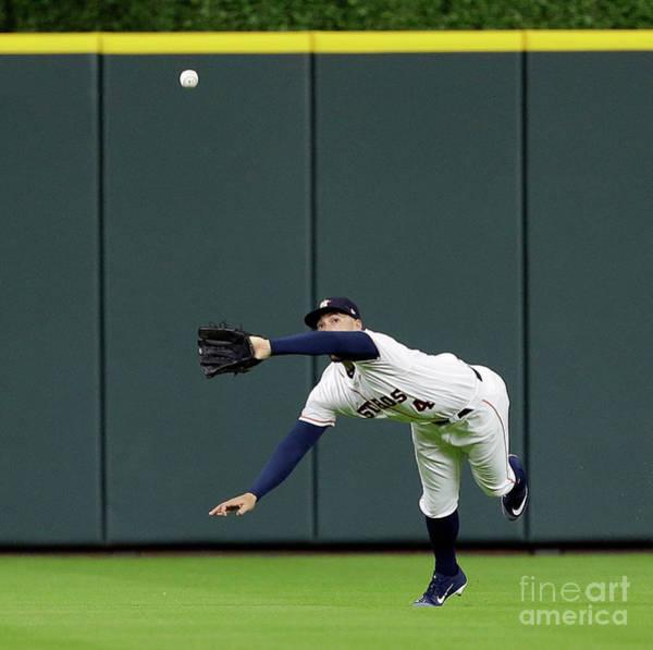 Wall Art - Photograph - Oakland Athletics V Houston Astros by Bob Levey