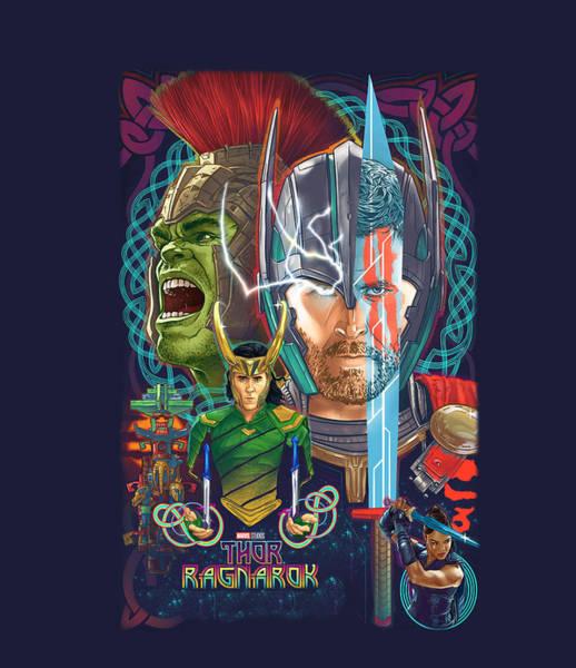 Wall Art - Digital Art - Thor  by Geek N Rock