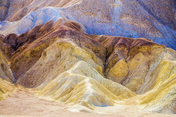 Photograph - Zabriskie Point In Death Valley National Park by Alex Grichenko