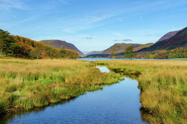Wall Art - Photograph - Buttermere by Smart Aviation