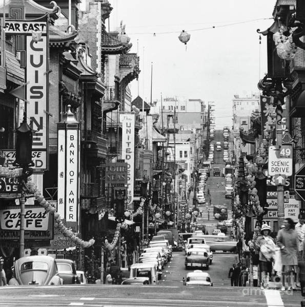 Photograph - San Francisco Chinatown by Granger