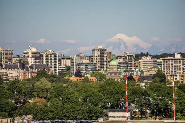 Photograph - Victoria British Columbia Canada Scenery In June by Alex Grichenko