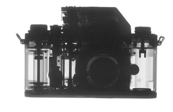 Photograph - X-ray Of Camera by Ted M. Kinsman