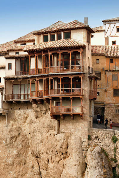 Wall Art - Photograph - Las Casas Colgadas, Or The Hanging Houses, Cuenca, Spain. by Ken Welsh