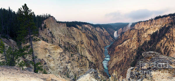 Photograph - 1495 Grand Canyon Of Yellowstone Panoramic by Steve Sturgill