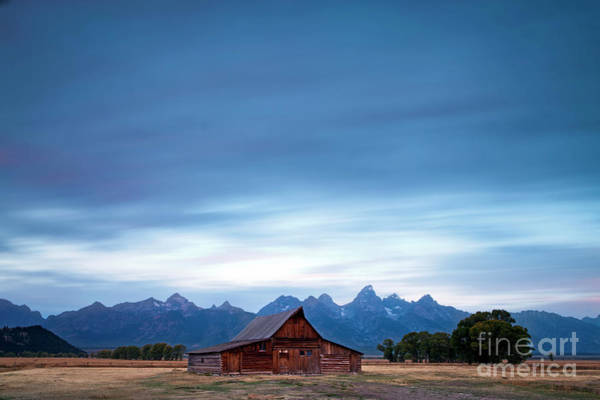 Photograph - 1497 Moulton Barn Long Exposure by Steve Sturgill