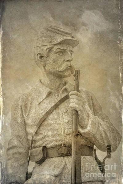 Wall Art - Digital Art - 149th Pennsylvania Monument Gettysburg by Randy Steele