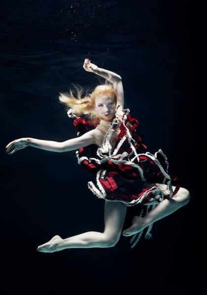Underwater Camera Photograph - Ballet Dancer Underwater by Henrik Sorensen
