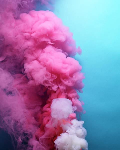 Wall Art - Photograph - Colored Smoke by Henrik Sorensen