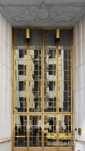 Photograph - 155 Sansome Street Doors San Francisco Financial District R363 by Wingsdomain Art and Photography
