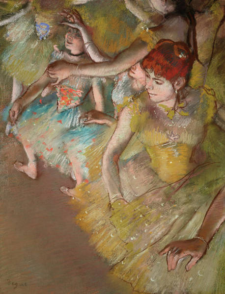 Wall Art - Painting - Ballet Dancers On The Stage by Edgar Degas