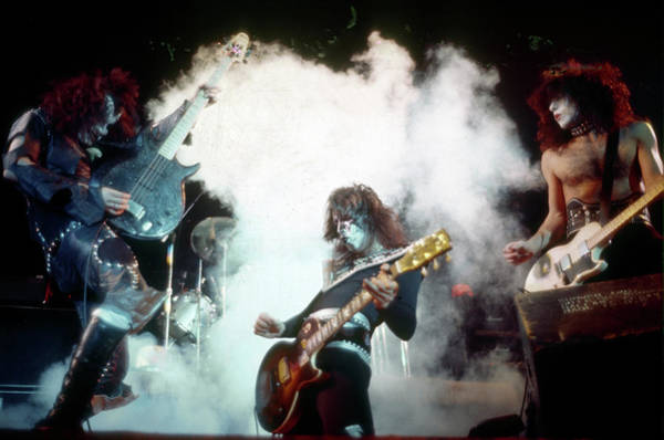Wall Art - Photograph - Kiss Performing by Michael Ochs Archives