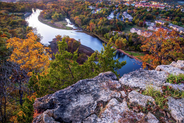 Photograph - 165 Scenic Overlook Of Table Rock Lake - Branson Missouri by Gregory Ballos