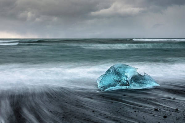 Fn Photograph - Jokulsarlon - Iceland by Joana Kruse