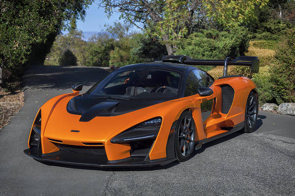 Photograph - #mclaren #senna #print by ItzKirb Photography