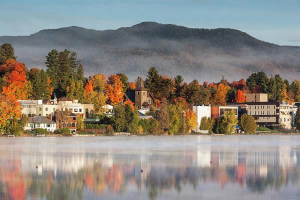 Wall Art - Photograph - Usa, New York, Adirondack Mountains by Walter Bibikow