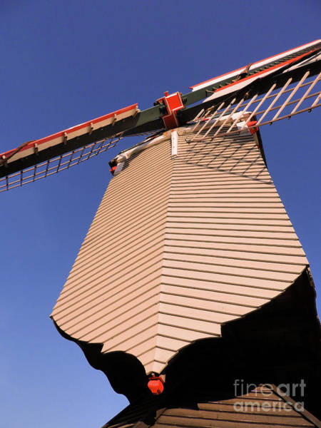 Photograph - 1745 Windmill Sundown Geometrics by Aapshop