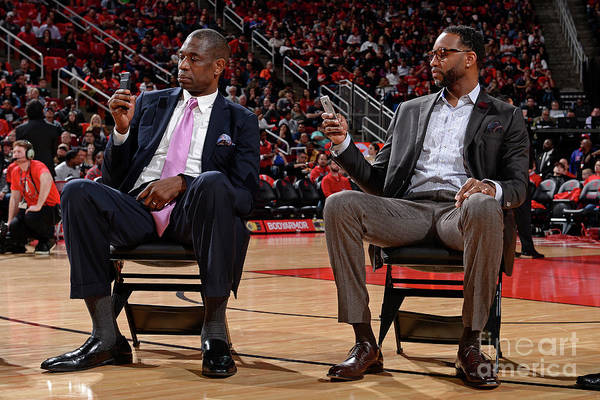 Photograph - Chicago Bulls V Houston Rockets by David Dow