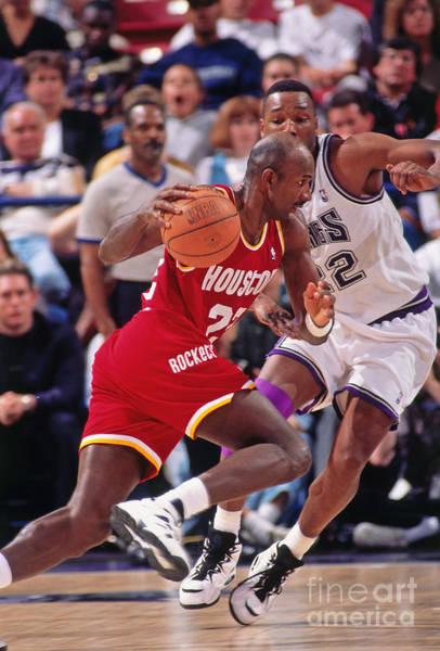 Photograph - Houston Rockets V Sacramento Kings by Rocky Widner