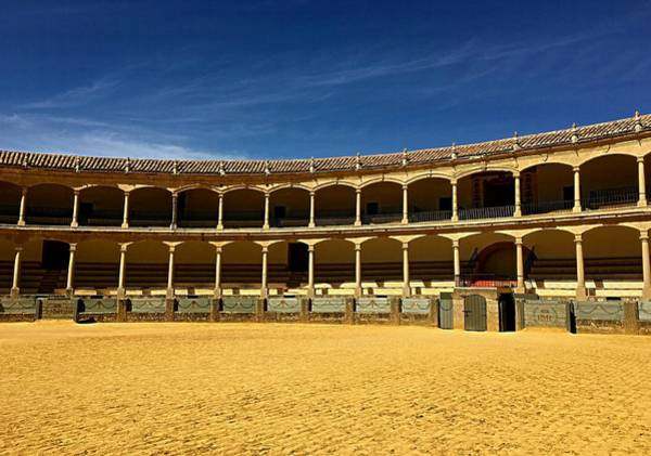 Wall Art - Photograph - 18th Century Bullring Of The Royal Cavalry Of Ronda by Lary Peterson