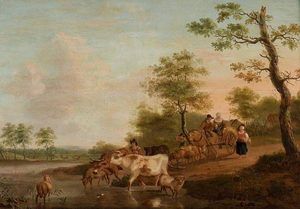 Wall Art - Painting - 18th Century, Landscape by Celestial Images