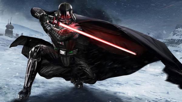Sith Wall Art - Digital Art - Darth Vader by Robert Voisine