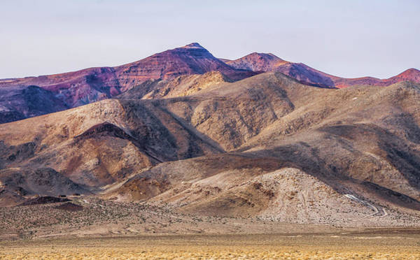 Photograph - Death Valley National Park Scenery by Alex Grichenko