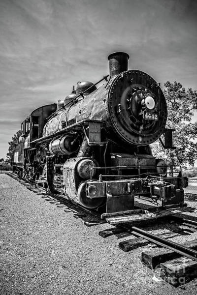 Wall Art - Photograph - 1900s Steam Train Locomotive by Edward Fielding