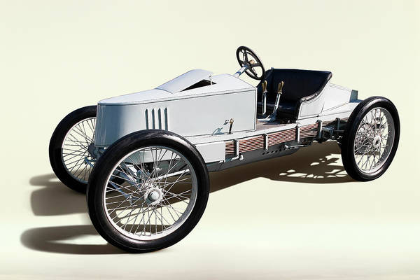 Collector Car Photograph - 1903 Packard Model K-s Grey Wolf by Car Culture
