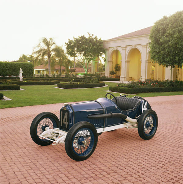 Old Florida Photograph - 1913 Peugeot Coupe De Lauto by Car Culture