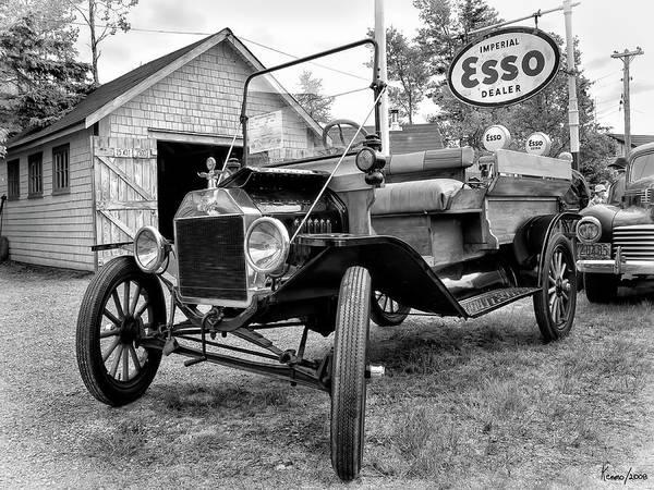Digital Art - 1915 Ford Model T Truck by Ken Morris