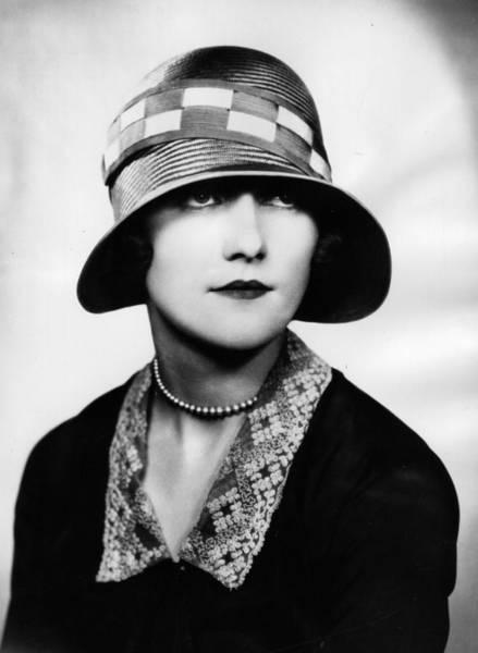 Headshot Photograph - 1920s Hat by Sasha