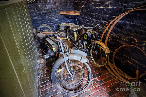 Wall Art - Photograph - 1920s Motorcycles by Ian Mitchell