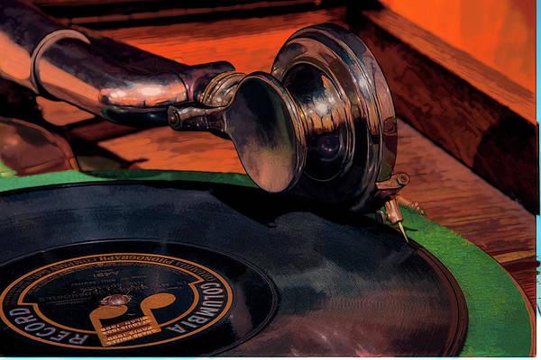 Wall Art - Photograph - 1922 Brunswick Phonograph by Mike Flynn