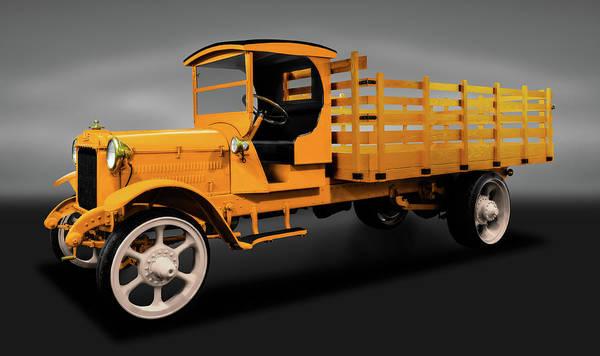 Heavy Duty Truck Wall Art - Photograph - 1926 Acme Model 125 5 Ton Truck   -  1926acmemodel125truckgray171937 by Frank J Benz