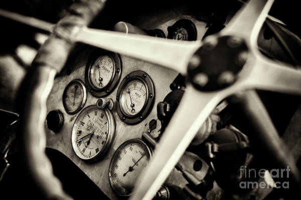 Photograph - 1926 Bugatti T23 Brescia Gauges by Tim Gainey