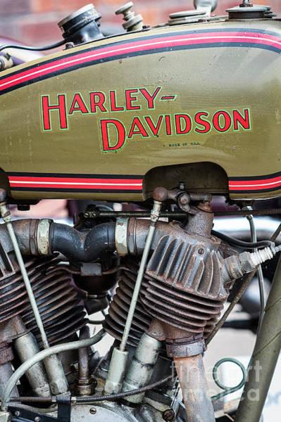 Photograph - 1926 Harley Davidson Jd by Tim Gainey