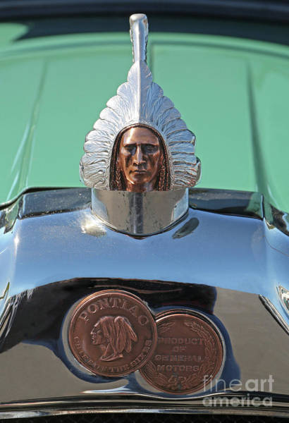 Photograph - 1926 Pontiac Hood Ornament by Kevin McCarthy