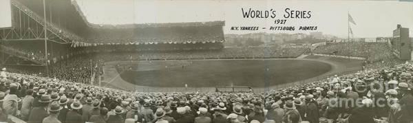 Yankee Stadium Photograph - 1927 World Series At Yankee Stadium by National Baseball Hall Of Fame Library