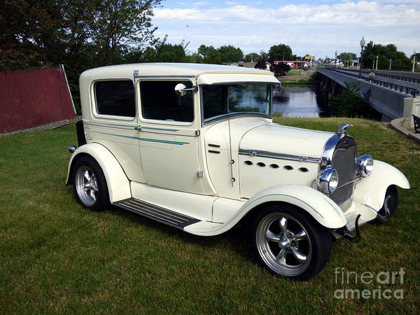 Photograph - 1929 Ford Model A Coupe by Charles Robinson