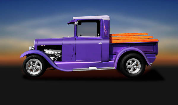 Wall Art - Photograph - 1929 Ford Model A Pickup Truck  -  29fordmodelapickuptruck196518 by Frank J Benz